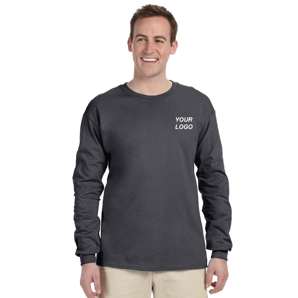 Gildan ultra cotton? 10 oz./lin. Yd. Long-sleeve t-shirt